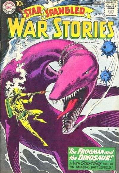 Star Spangled War Stories #94 comic books for sale