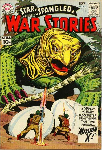 Star Spangled War Stories #96 comic books for sale