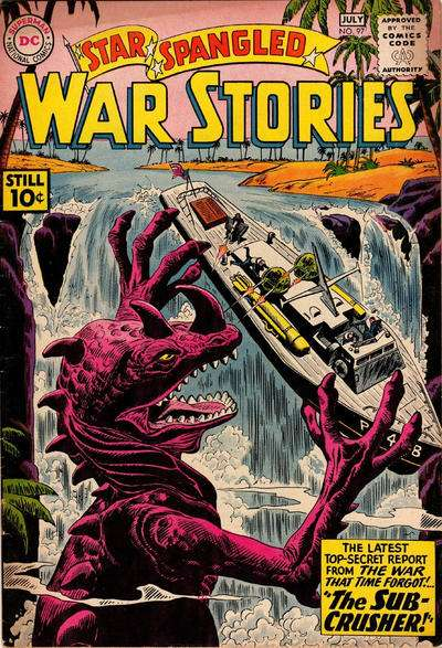 Star Spangled War Stories #97 comic books for sale
