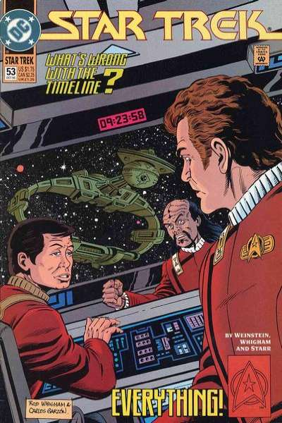 Star Trek #53 comic books for sale