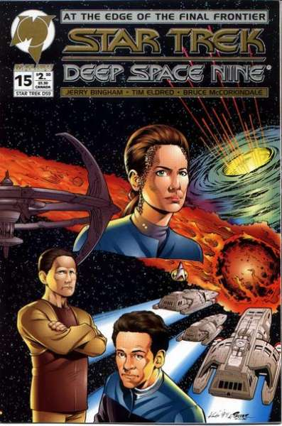 Star Trek: Deep Space Nine #15 comic books for sale