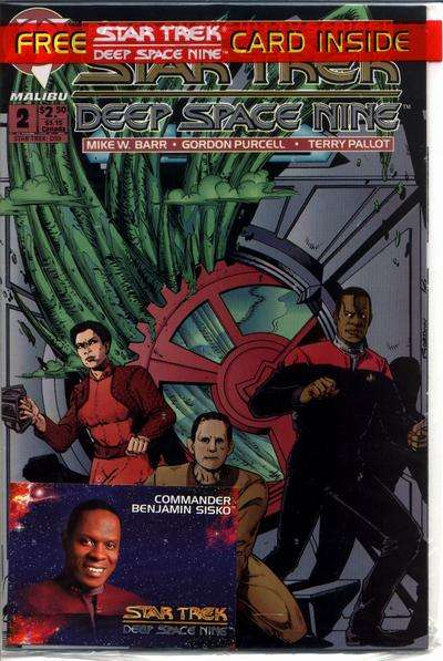Star Trek: Deep Space Nine #2 comic books for sale