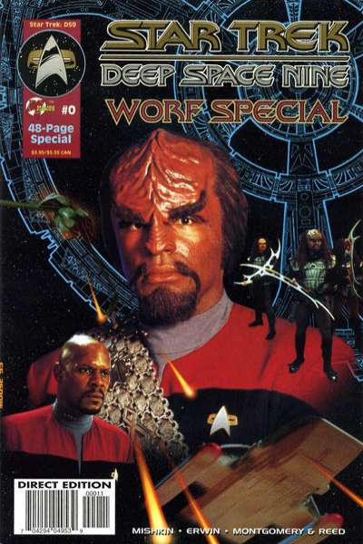 Star Trek: Deep Space Nine #0 comic books for sale