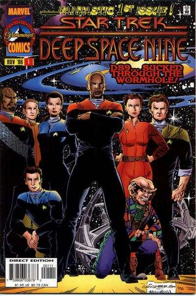 Star Trek: Deep Space Nine #1 comic books - cover scans photos Star Trek: Deep Space Nine #1 comic books - covers, picture gallery