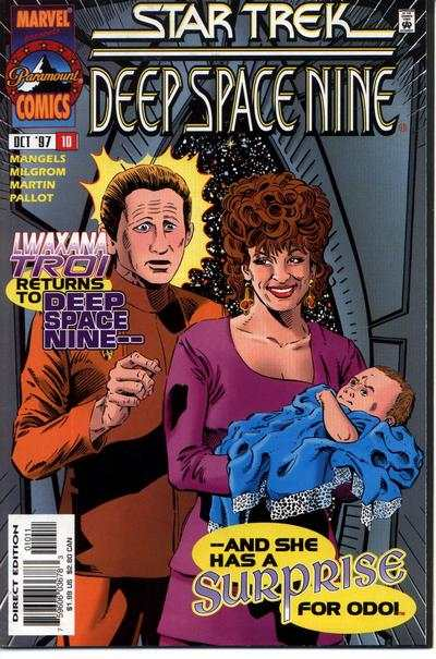 Star Trek: Deep Space Nine #10 comic books - cover scans photos Star Trek: Deep Space Nine #10 comic books - covers, picture gallery