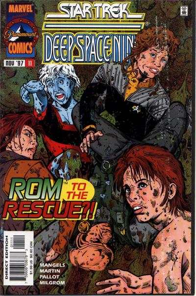 Star Trek: Deep Space Nine #11 Comic Books - Covers, Scans, Photos  in Star Trek: Deep Space Nine Comic Books - Covers, Scans, Gallery