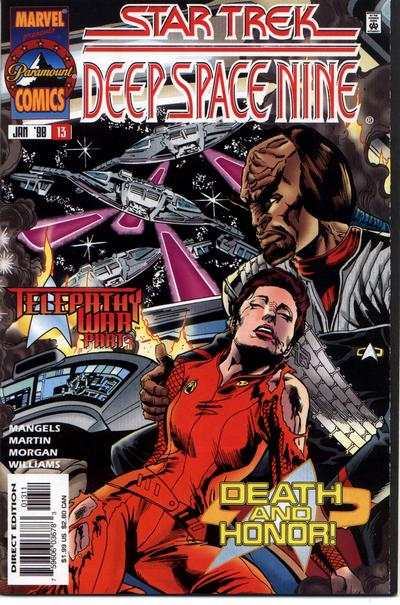 Star Trek: Deep Space Nine #13 comic books - cover scans photos Star Trek: Deep Space Nine #13 comic books - covers, picture gallery