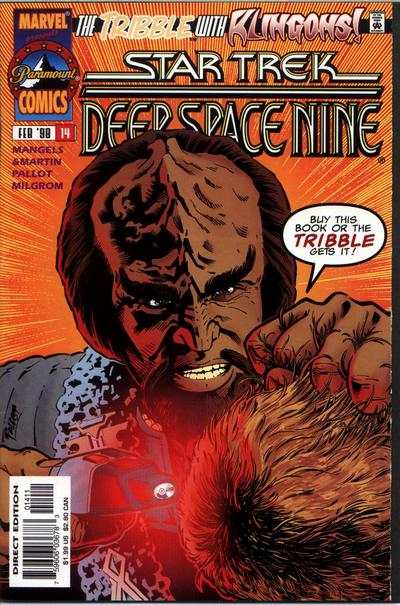 Star Trek: Deep Space Nine #14 Comic Books - Covers, Scans, Photos  in Star Trek: Deep Space Nine Comic Books - Covers, Scans, Gallery