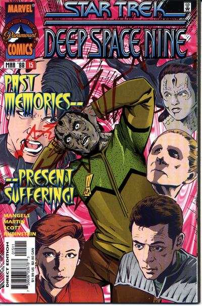 Star Trek: Deep Space Nine #15 comic books - cover scans photos Star Trek: Deep Space Nine #15 comic books - covers, picture gallery
