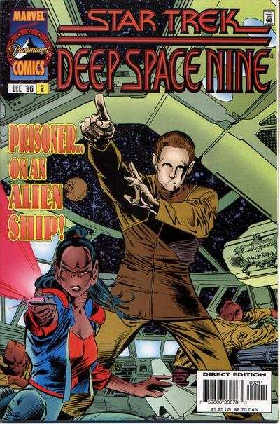 Star Trek: Deep Space Nine #2 comic books - cover scans photos Star Trek: Deep Space Nine #2 comic books - covers, picture gallery