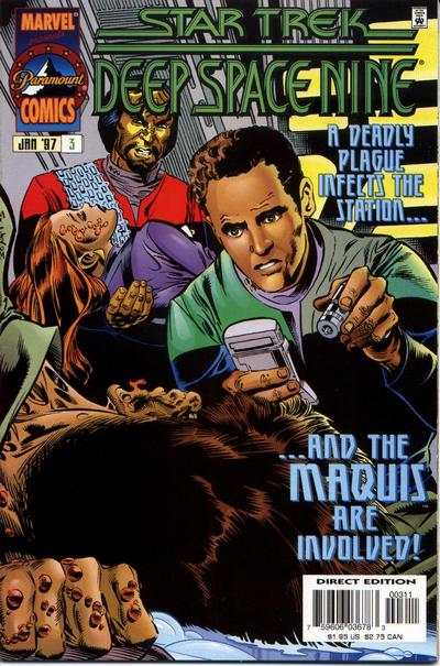 Star Trek: Deep Space Nine #3 comic books for sale