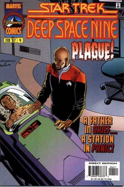 Star Trek: Deep Space Nine #4 comic books for sale