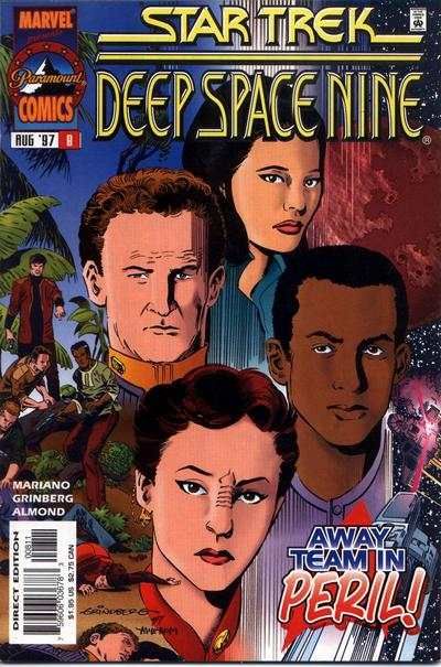 Star Trek: Deep Space Nine #8 comic books for sale