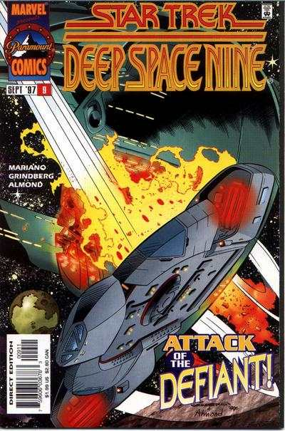 Star Trek: Deep Space Nine #9 comic books for sale