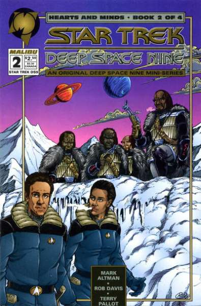 Star Trek: Deep Space Nine Hearts and Minds #2 comic books for sale