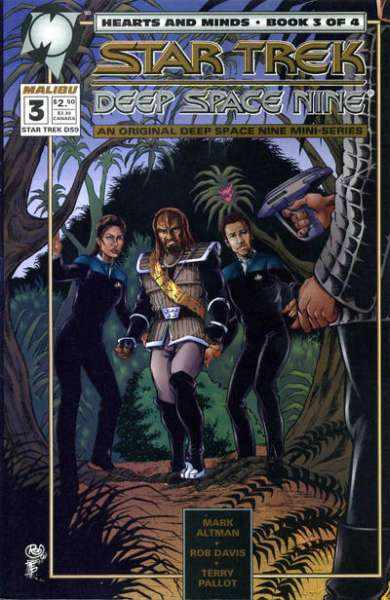 Star Trek: Deep Space Nine Hearts and Minds #3 comic books for sale