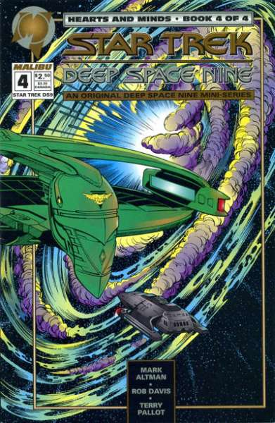 Star Trek: Deep Space Nine Hearts and Minds #4 comic books for sale