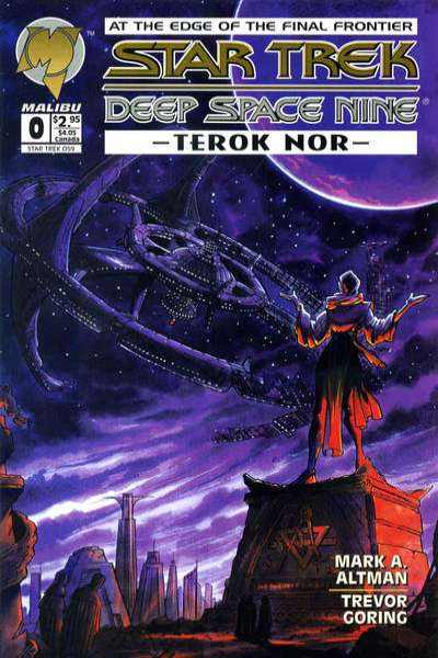 Star Trek: Deep Space Nine: Terok Nor #0 comic books - cover scans photos Star Trek: Deep Space Nine: Terok Nor #0 comic books - covers, picture gallery