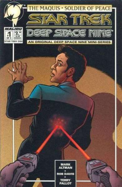 Star Trek: Deep Space Nine: The Maquis #1 comic books for sale