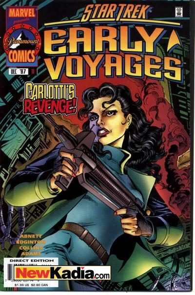 Star Trek Early Voyages #11 comic books - cover scans photos Star Trek Early Voyages #11 comic books - covers, picture gallery