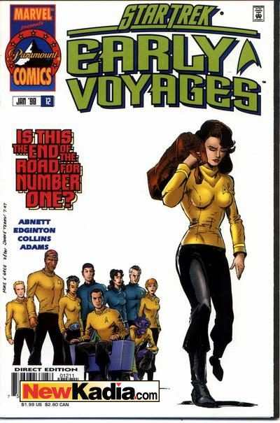 Star Trek Early Voyages #12 Comic Books - Covers, Scans, Photos  in Star Trek Early Voyages Comic Books - Covers, Scans, Gallery