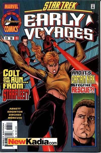 Star Trek Early Voyages #13 Comic Books - Covers, Scans, Photos  in Star Trek Early Voyages Comic Books - Covers, Scans, Gallery