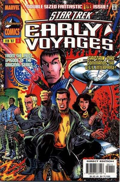 Star Trek Early Voyages #1 comic books - cover scans photos Star Trek Early Voyages #1 comic books - covers, picture gallery