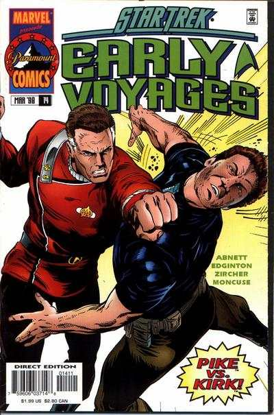 Star Trek Early Voyages #14 Comic Books - Covers, Scans, Photos  in Star Trek Early Voyages Comic Books - Covers, Scans, Gallery