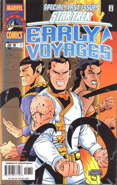 Star Trek Early Voyages #17 comic books - cover scans photos Star Trek Early Voyages #17 comic books - covers, picture gallery