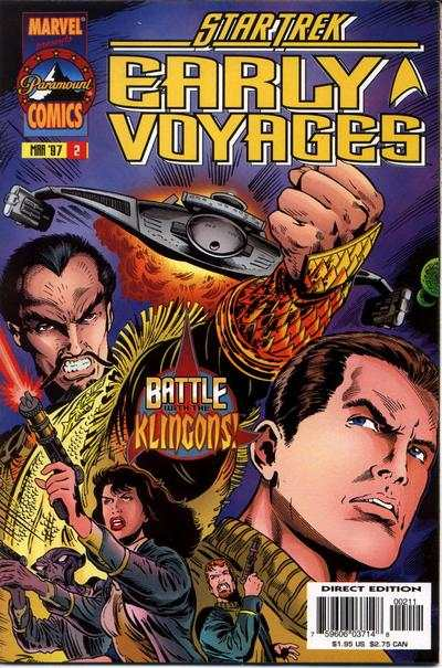 Star Trek Early Voyages #2 comic books - cover scans photos Star Trek Early Voyages #2 comic books - covers, picture gallery
