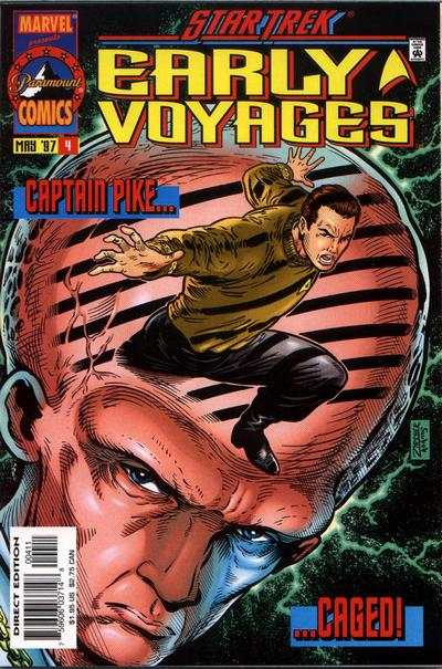 Star Trek Early Voyages #4 comic books - cover scans photos Star Trek Early Voyages #4 comic books - covers, picture gallery