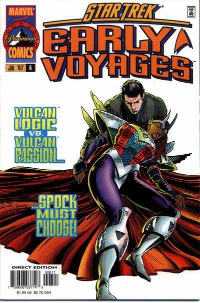 Star Trek Early Voyages #6 Comic Books - Covers, Scans, Photos  in Star Trek Early Voyages Comic Books - Covers, Scans, Gallery