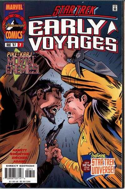 Star Trek Early Voyages #7 Comic Books - Covers, Scans, Photos  in Star Trek Early Voyages Comic Books - Covers, Scans, Gallery