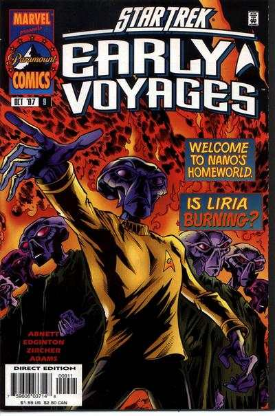 Star Trek Early Voyages #9 Comic Books - Covers, Scans, Photos  in Star Trek Early Voyages Comic Books - Covers, Scans, Gallery