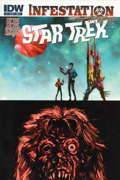 Star Trek: Infestation comic books