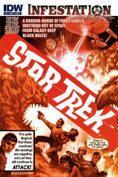 Star Trek: Infestation #2 Comic Books - Covers, Scans, Photos  in Star Trek: Infestation Comic Books - Covers, Scans, Gallery