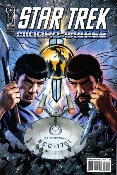 Star Trek: Mirror Images #1 Comic Books - Covers, Scans, Photos  in Star Trek: Mirror Images Comic Books - Covers, Scans, Gallery
