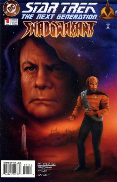 Star Trek: The Next Generation - Shadowheart Comic Books. Star Trek: The Next Generation - Shadowheart Comics.