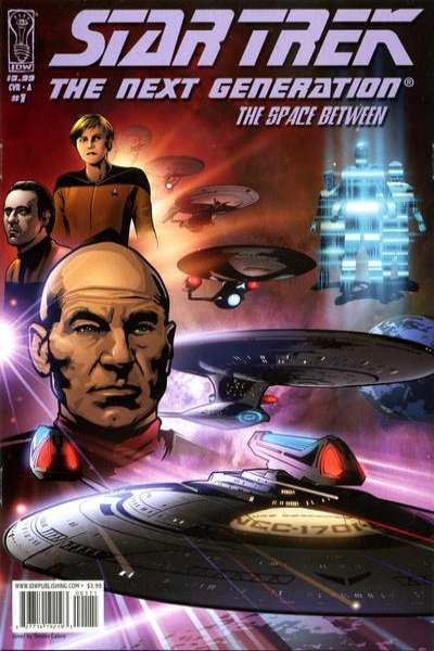 Star Trek: The Next Generation - The Space Between #1 cheap bargain discounted comic books Star Trek: The Next Generation - The Space Between #1 comic books
