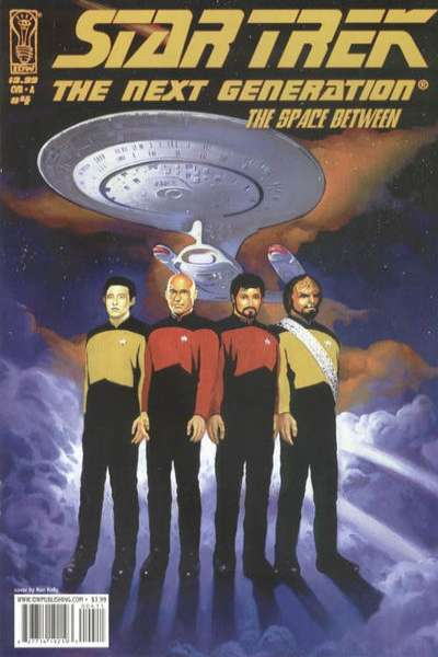 Star Trek: The Next Generation - The Space Between #4 comic books for sale