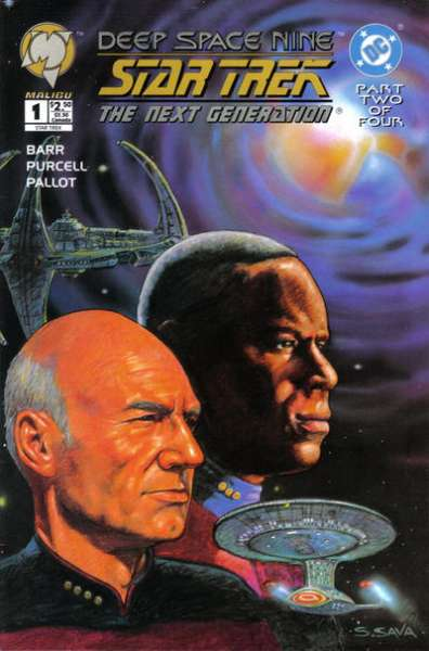 Star Trek: The Next Generation/Deep Space Nine # comic book complete sets Star Trek: The Next Generation/Deep Space Nine # comic books