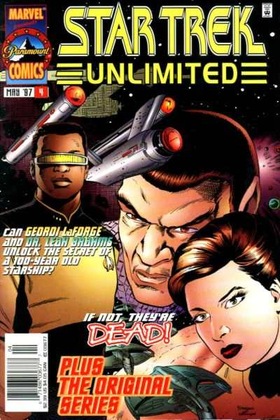 Star Trek Unlimited #4 comic books for sale