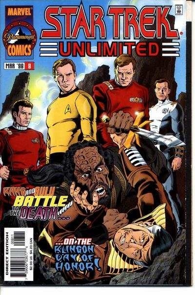 Star Trek Unlimited #8 comic books for sale