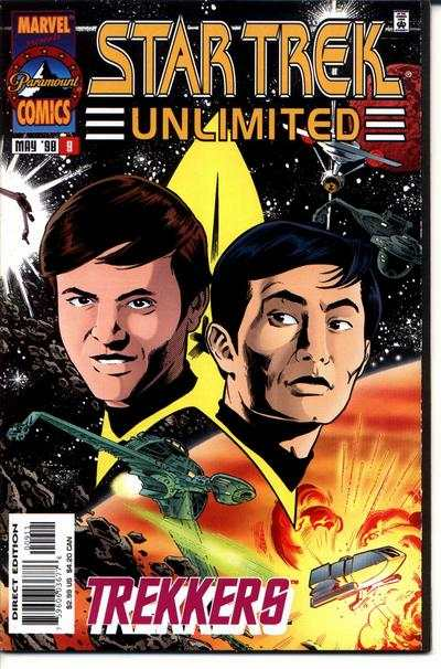 Star Trek Unlimited #9 comic books for sale