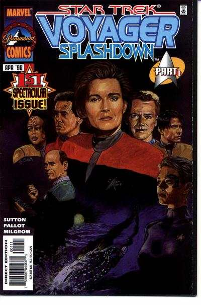 Star Trek: Voyager Splashdown comic books