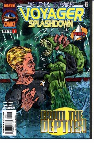 Star Trek: Voyager Splashdown #2 comic books for sale