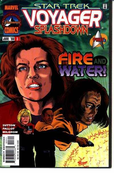 Star Trek: Voyager Splashdown #3 comic books for sale
