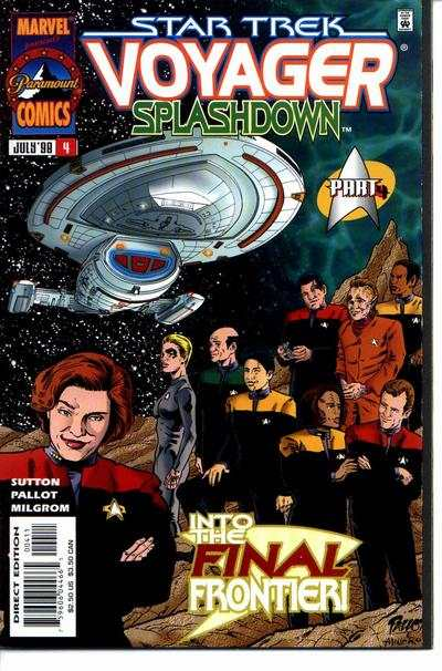 Star Trek: Voyager Splashdown #4 comic books for sale