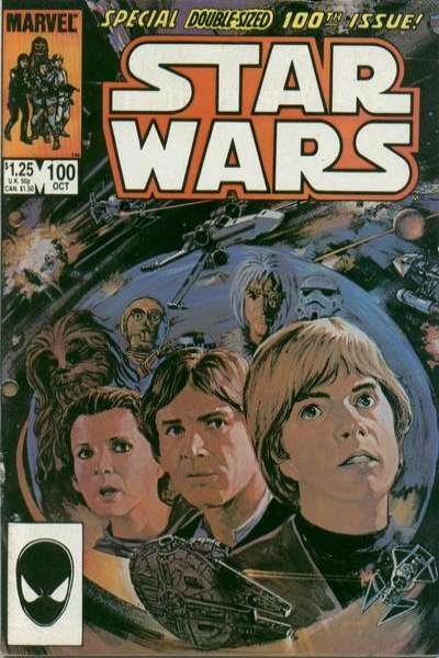 Star Wars #100 comic books - cover scans photos Star Wars #100 comic books - covers, picture gallery