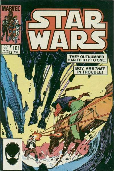 Star Wars #101 comic books - cover scans photos Star Wars #101 comic books - covers, picture gallery